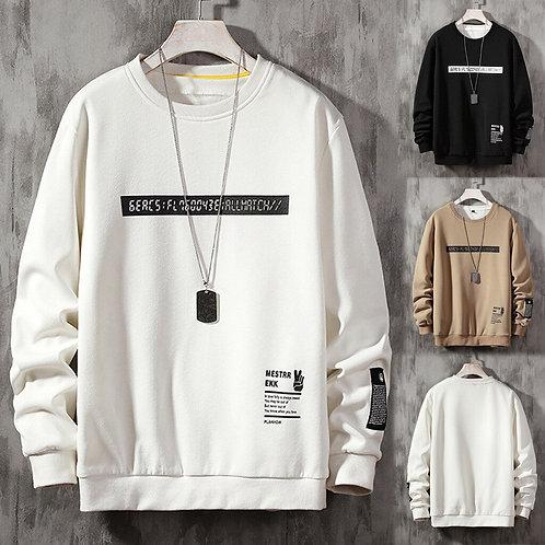 Japanese Streetwear Hoodie Mens Casual Hoodies Sweatshirts