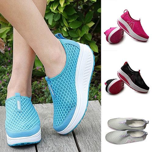 Shoes Women Mesh Flat Shoes Sneakers Platform Shoes Women Loafers