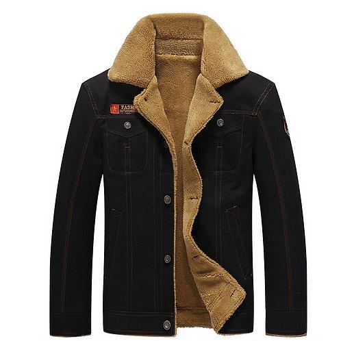 2020 Winter Bomber Jacket Men Air Force Pilot Jacket Warm Fur Collar Men Army