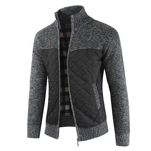 Mountainskin Men's Sweaters Autumn Winter Warm Knitted Sweater Jackets Cardigan