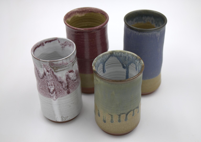kleinere Vasen 19,-/Stück