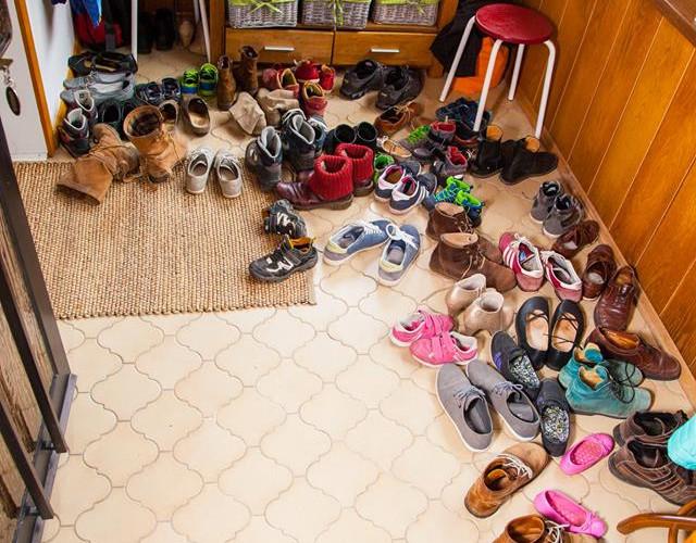 Schuhe im Ekiz