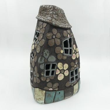 """""""der bunte Turm"""", große Urne für Aschekapsel"""