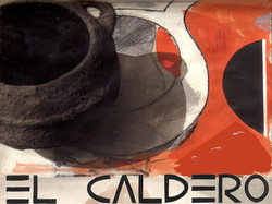 "Cartel ""El caldero"""