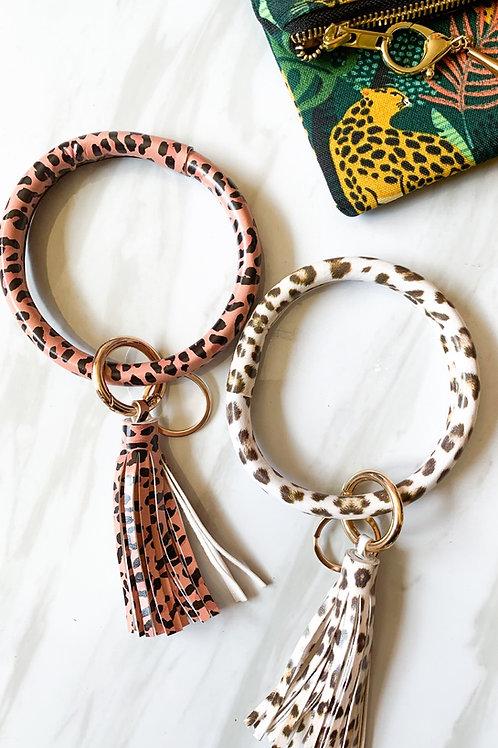 """Large 4"""" Wristlet Key Chain"""