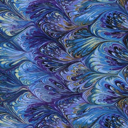 Multi-color water color print
