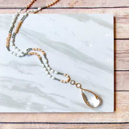 Sayla long necklace