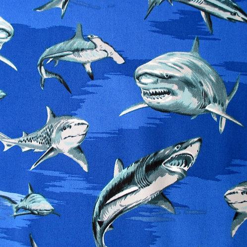 Multi Shark Print