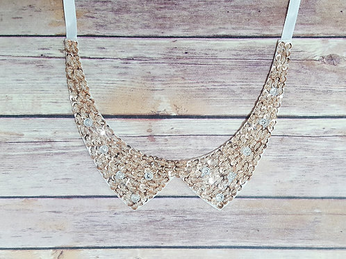 Faux Collar Necklace