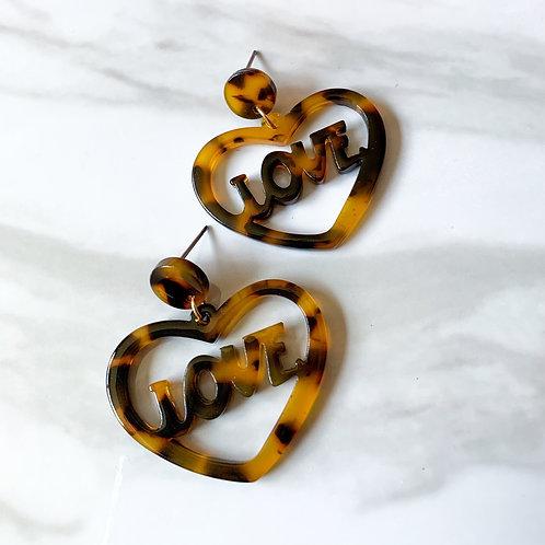 All 4 Love Earrings