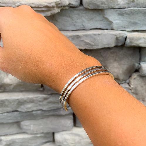 Triple Cuff Bracelet