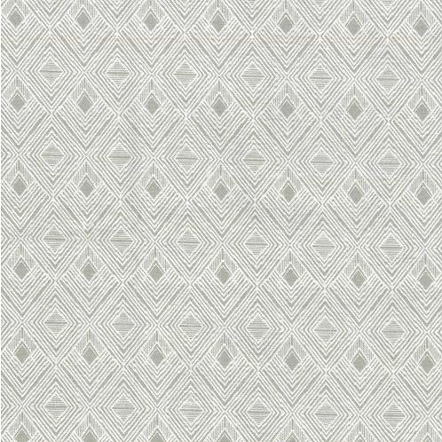 Grey Diamond Fabric