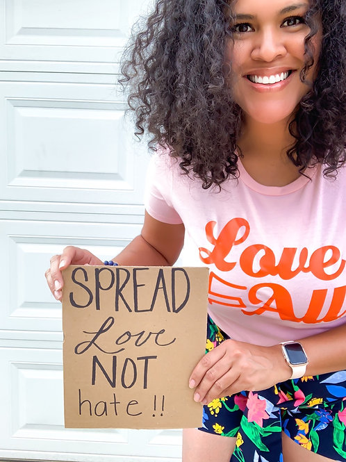 Love For All (women's fit) tee