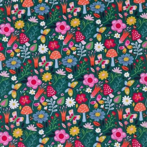 Floral mix print