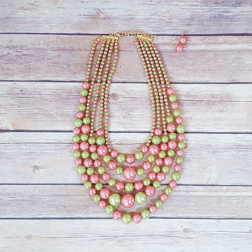 Pretty in Pink, Gourgeous in Green (set)