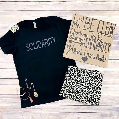 Solidarity tee (unisex look & fit)