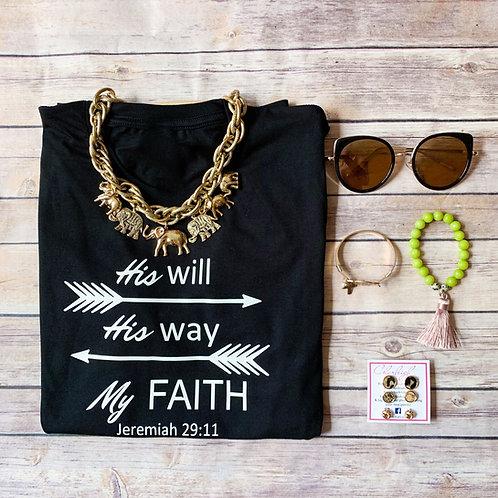 My faith Tee Jeremiah 29:11