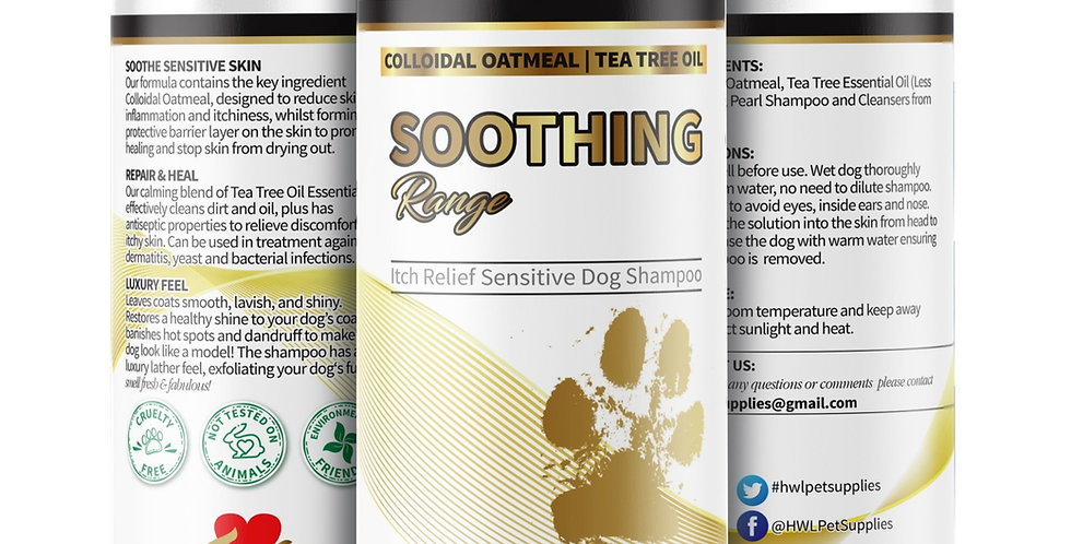NEW Oatmeal & Tea Tree Oil Dog Shampoo