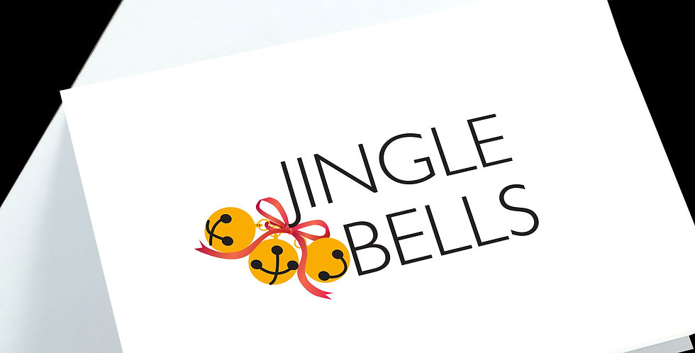 Jingle Bells Christmas Cards - pack of 5