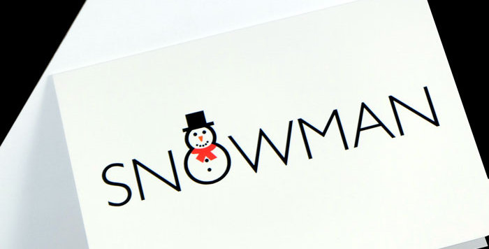 Snowman Christmas Cards - pack of 5