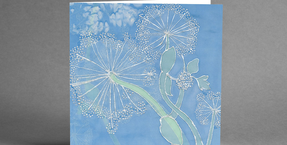 Cow Parsley Card