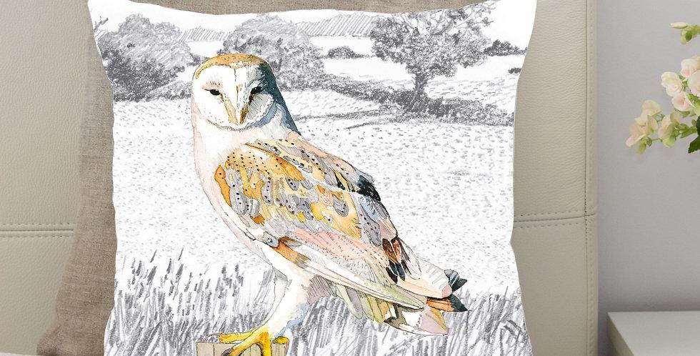 Barn Owl Cushion