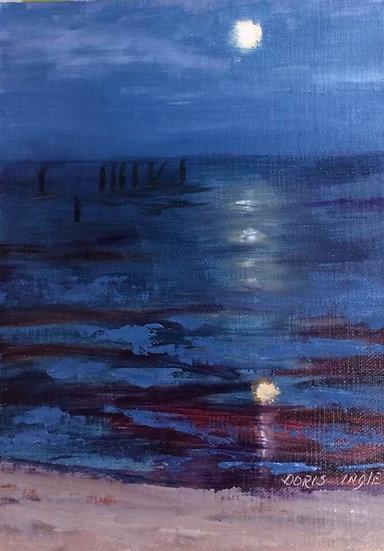 "Doris Ingle- ""Moon Over Waveland"""