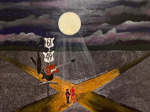 "Michael Mabry- ""Robert Johnson And The Devil Night"""