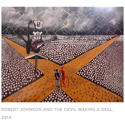 "Michael Mabry- ""Robert Johnson And The Devil"""