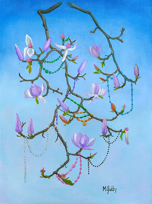 Michael Guidry - Beaded Magnolia
