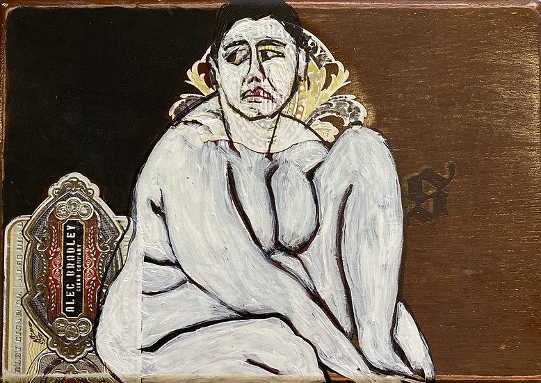"Christina Juran- Cigar Box Lady"""
