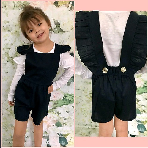 Navy Stylish Playsuit (White top not included)
