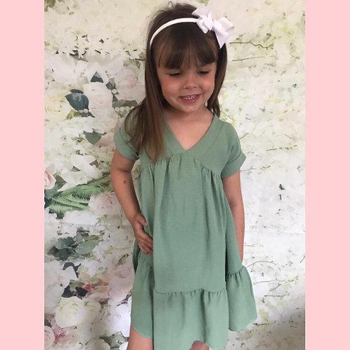 Apple swing dress