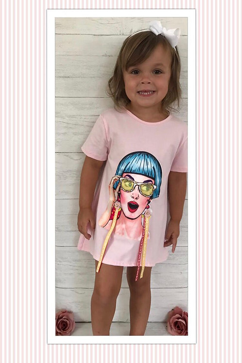Pink Comfy style T-Shirt