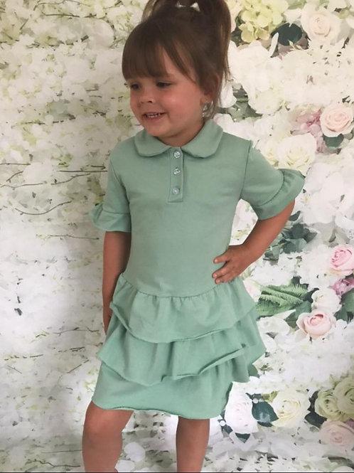 Apple Green T-Shirt Dress