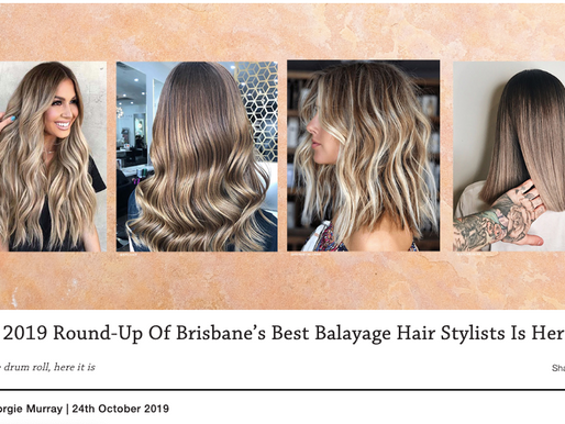 Tigerlamb named one of Brisbane's Best Balayage Hair Stylists