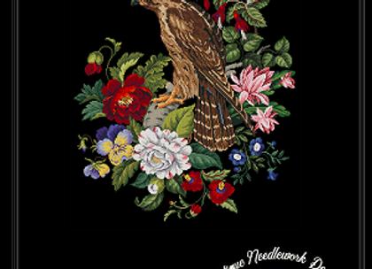 Antique Floral Hawk