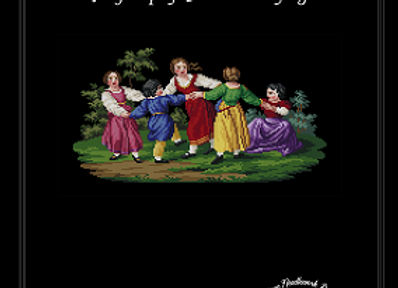 A Group of Children Playing