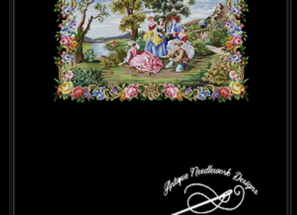 Figural French Tapestry