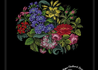 Bouquet of Summer Garden Flowers