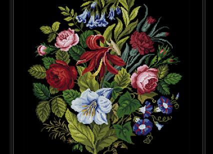 Antique Floral Large Bouquet