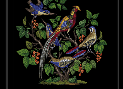 Five Birds in a Tree