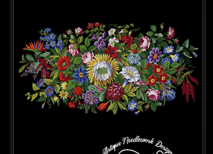 Berlin Floral DesignTapestry