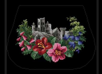 Floral  Castle Design