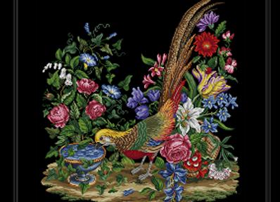 Pheasant & Flowers