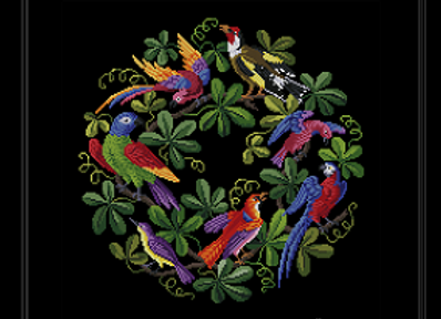 A Garland of Exotic Birds