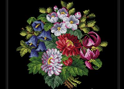 Antique Floral Bouquet
