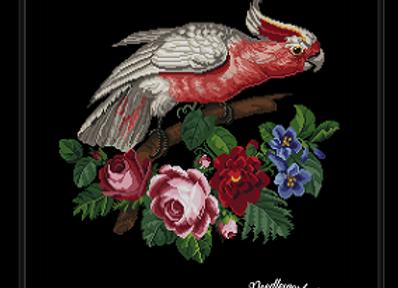 Antique Rose Braset Parrot