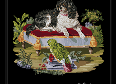 a Spaniel and Dog