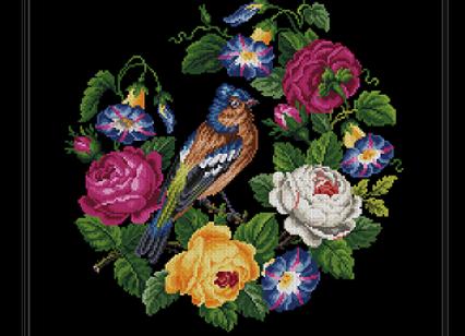 Berlin Floral Bird